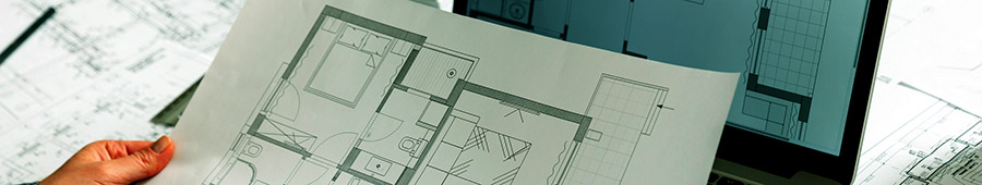 Floor Plans, Building Services Layouts, Standard Details etc.